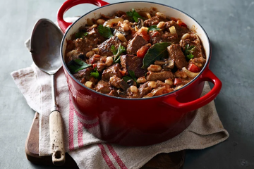 Italian Casserole With Cannellini Beans