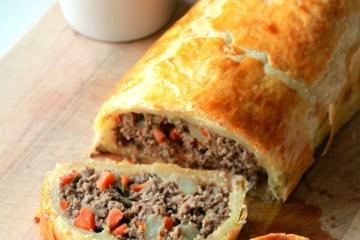 Beef Mince Wellington